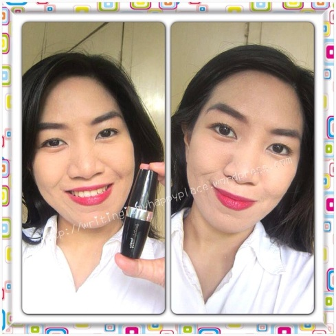 AVON Vitaluscious Lipstick in Reviving Red
