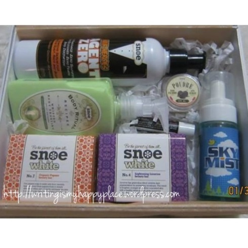 Special Edition SNOE Glamourbox