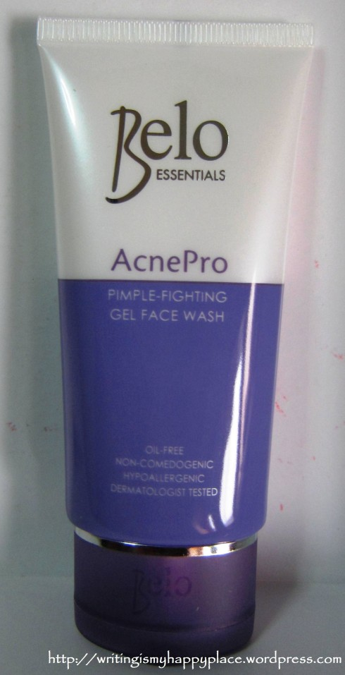 Belo AcnePro Pimple-Fighting Gel Face Wash